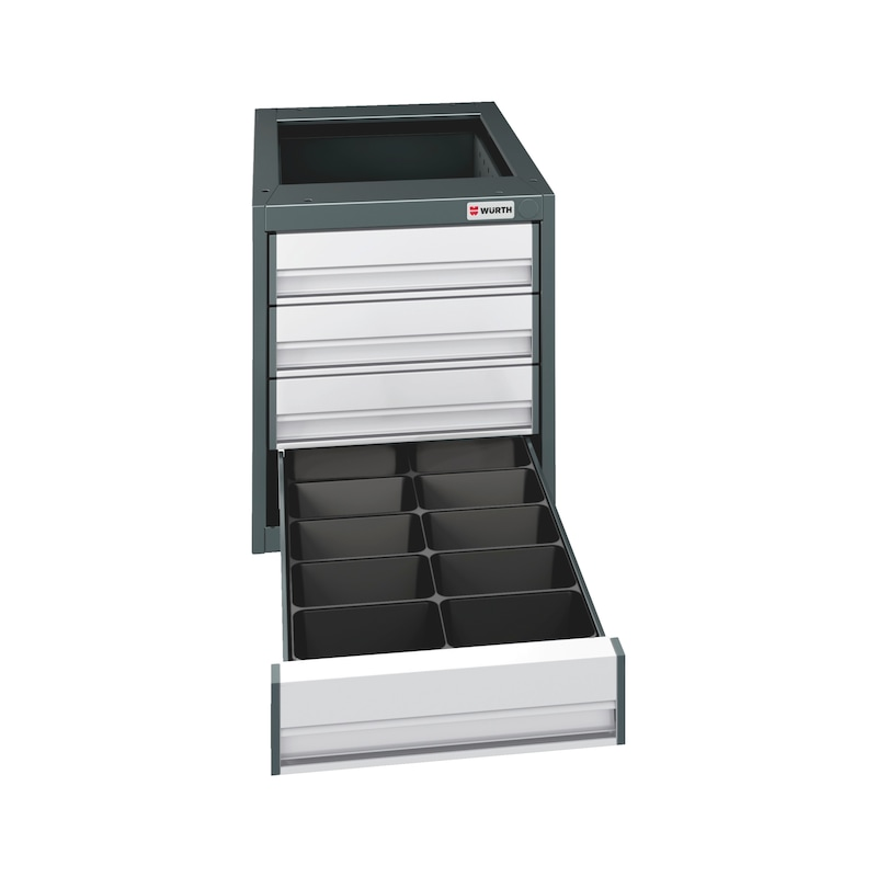Drawer insert  - AY-INRT-PLA-DM-TZT510-10COMPARTMENTS