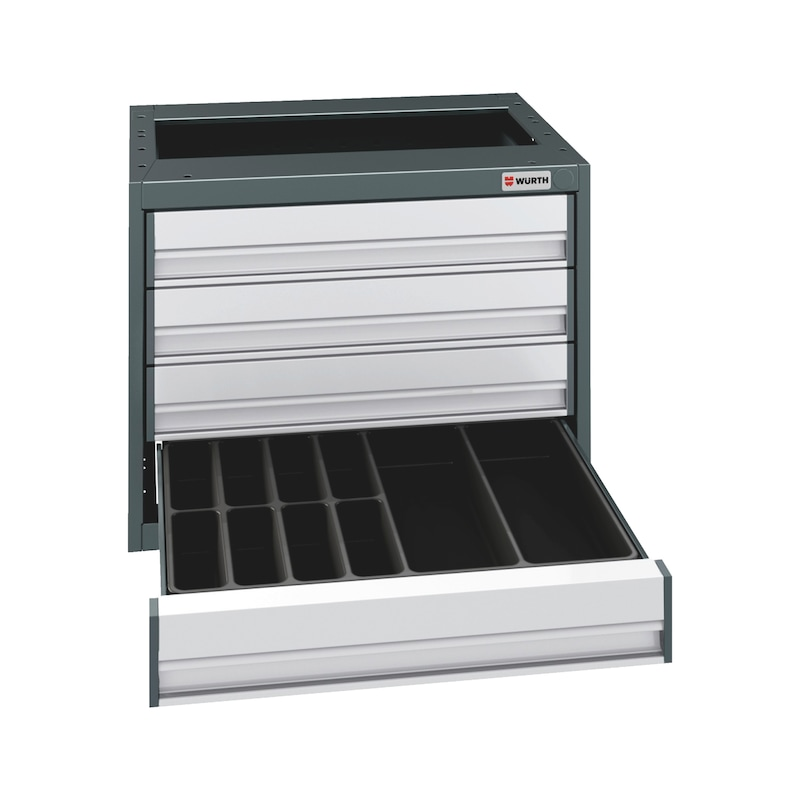 Drawer insert  - AY-INRT-PLA-DM-10COMPARTMENTS-450