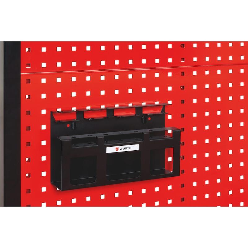 Screwdriver holder - SCRDRIVRCK-EMPTY-BLACK-310X100X185MM