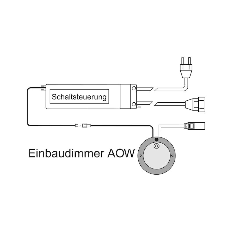 Schaltsteuerung für Einbaudimmer AOW 1-10 V - 3