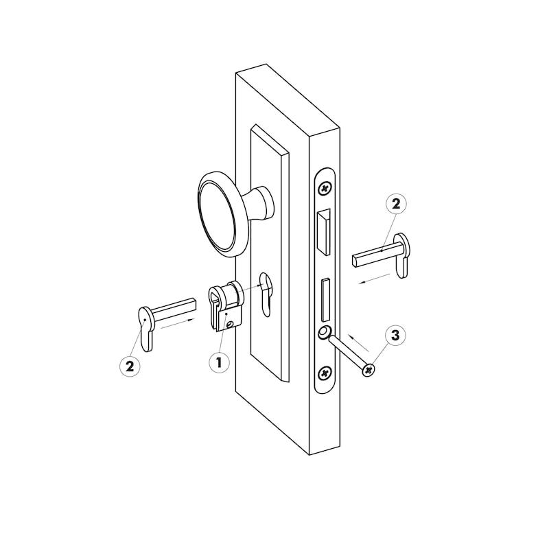 Profile universal blind cylinder - 3