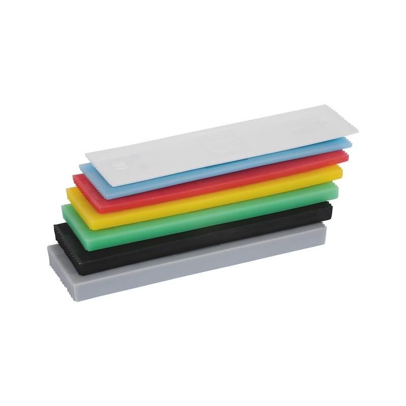 Verglasungsklotz-Sortiment - VERGLASKLTZ-SORT-O.RUTSCHS-46X1-6-240TLG