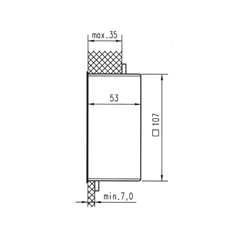 Hohlwand-Verbindungskasten - 2