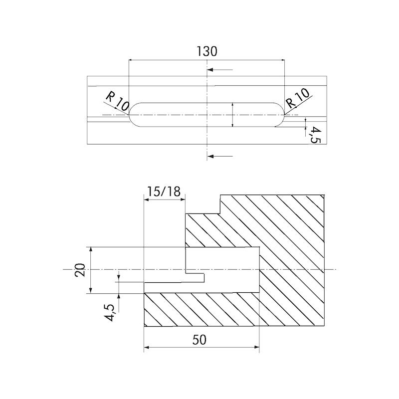 3-D Band  Insert - 2