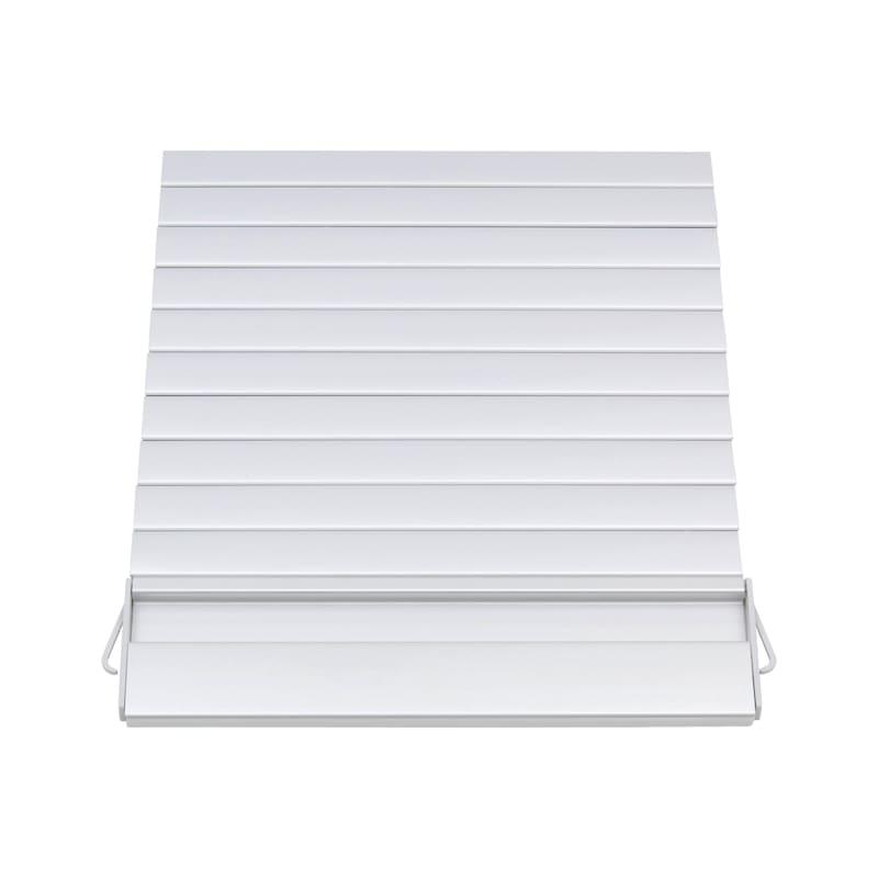 Rollladensystem Vertikal-Montagebox - MOEBLROLLLAD-ALU-600/1500/20MM
