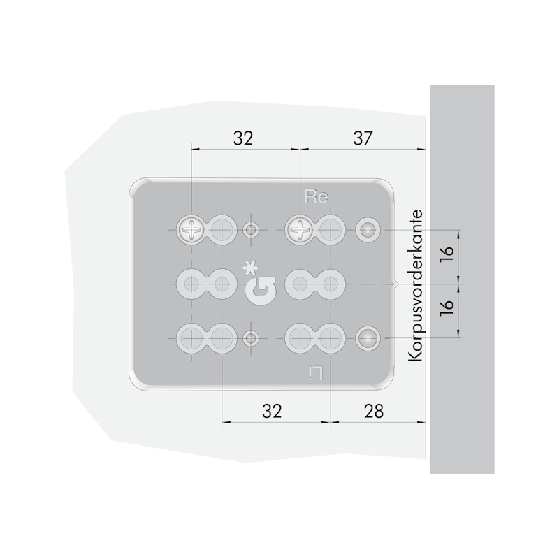 Distanzhalter Nova Pro Typ 600 - 4