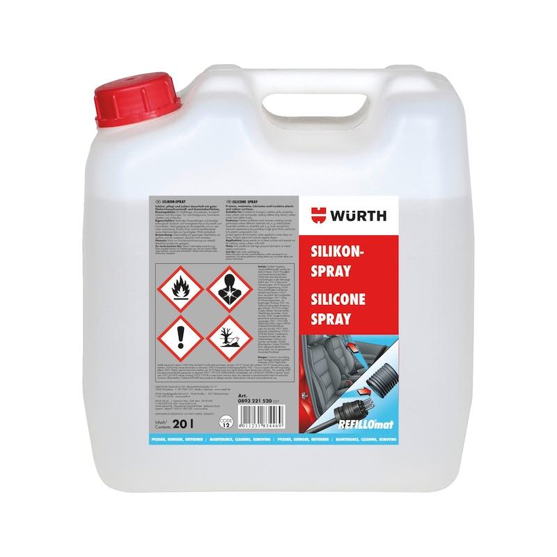 Silicone spray - SILSPR-REFILLOCANISTER-20LTR