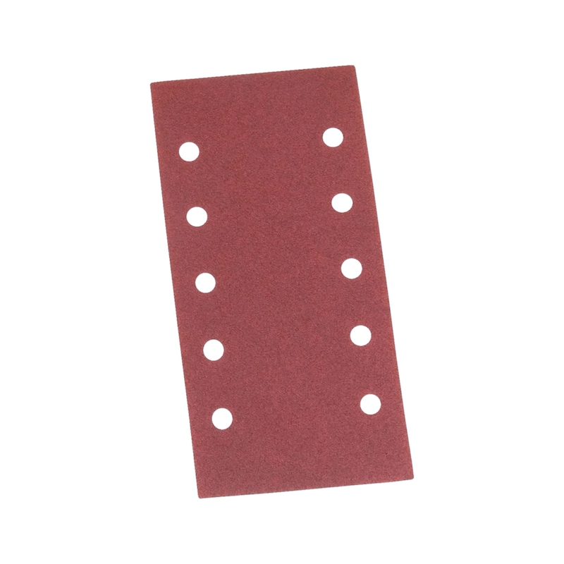 Vehicle dry sandpaper strip red perfect<SUP>®</SUP> - DSPAP-HOKLP-10HO-P80-115X230MM