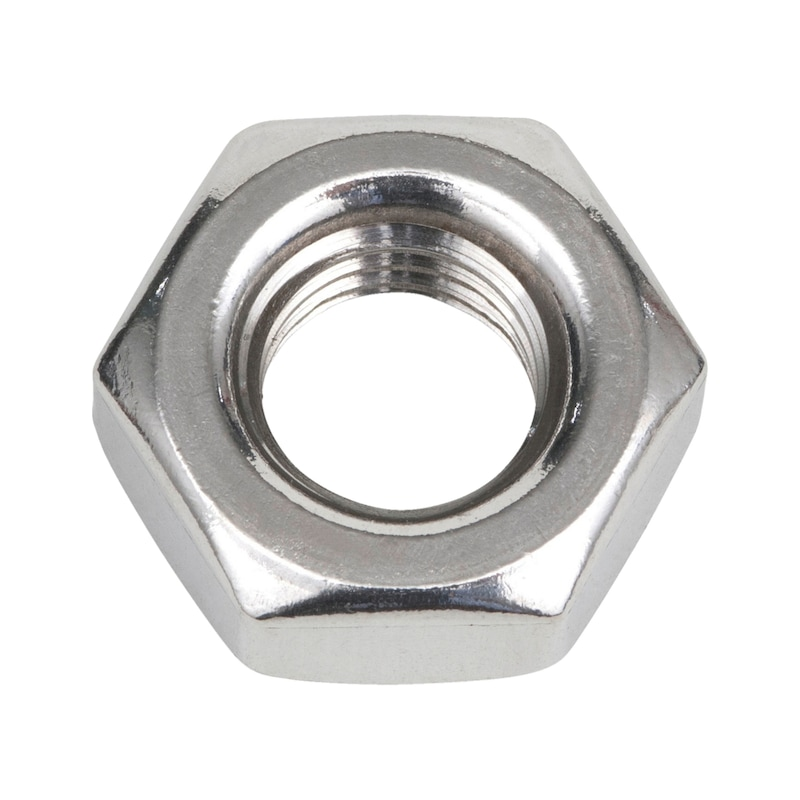 Hexagon nut with fine thread - 1
