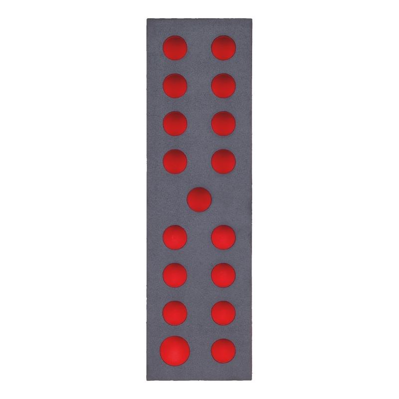 Schaumeinlage für 1/4 Zoll und 1/2 Zoll Steckschlüssel Sortiment - 2