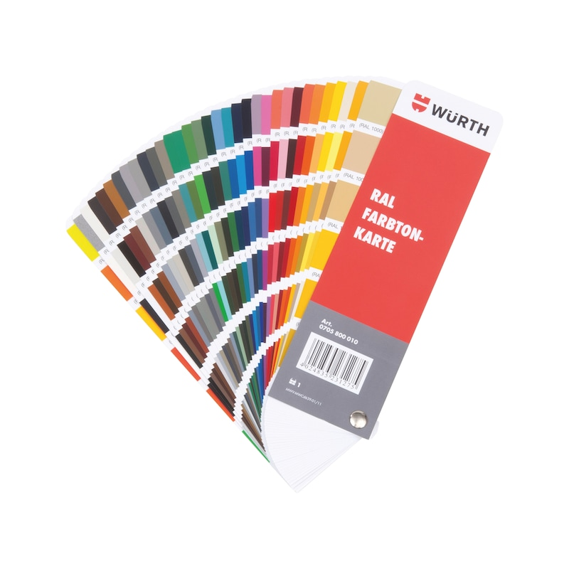 Buy RAL Colour Card Online