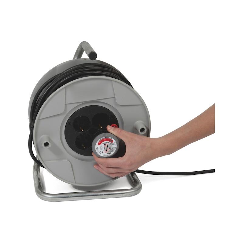 Steckdosenprüfgerät A mit FI/RCD-Auslösung - 2