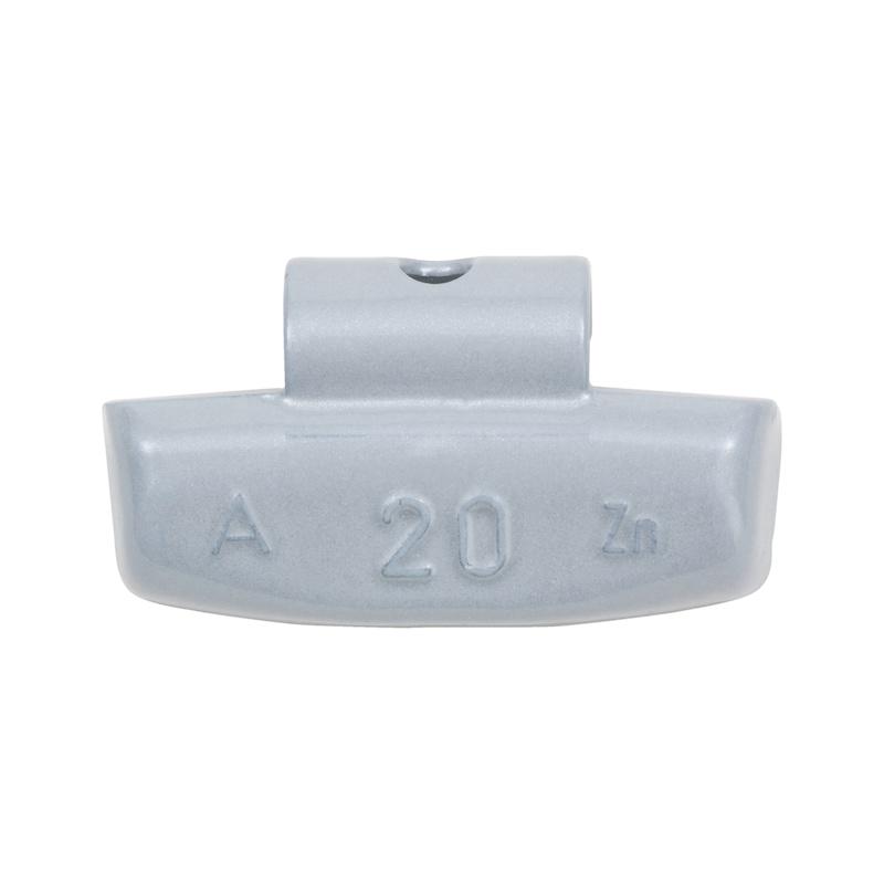 Zink-Schlagauswuchtgewicht für Pkw-Aluminiumfelgen
