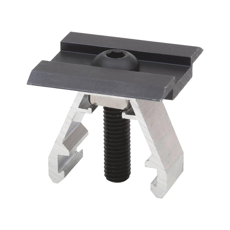 Centre clamp - RTNGCLIP-SOLCOLL-MID-BLCK-(36-50MM)-HS5