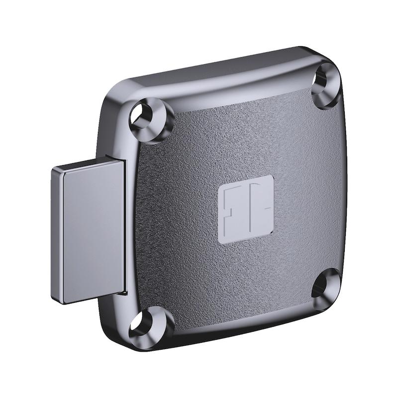 Aufschraubschloss MS 5000 - MS5000-AUFSHRBSHLO-ZD-(NI)-D25-TS25-LAD