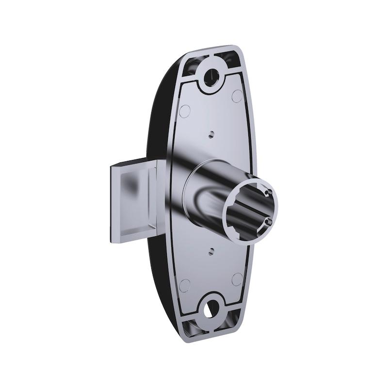 Drehstangenschloss MS 5000 - MS5000-SHLO-DRHSTG-ZD-(NI)-D20MM-L25MM