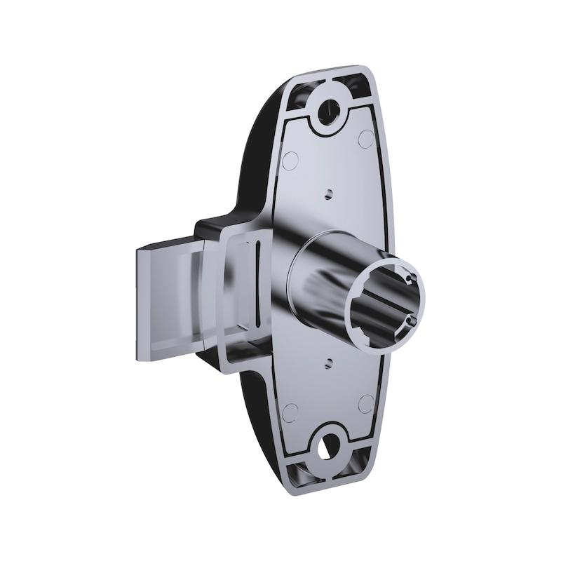 Drehstangenschloss MS 5000 - MS5000-SHLO-DRHSTG-ZD-(NI)-D30MM-TS25MM