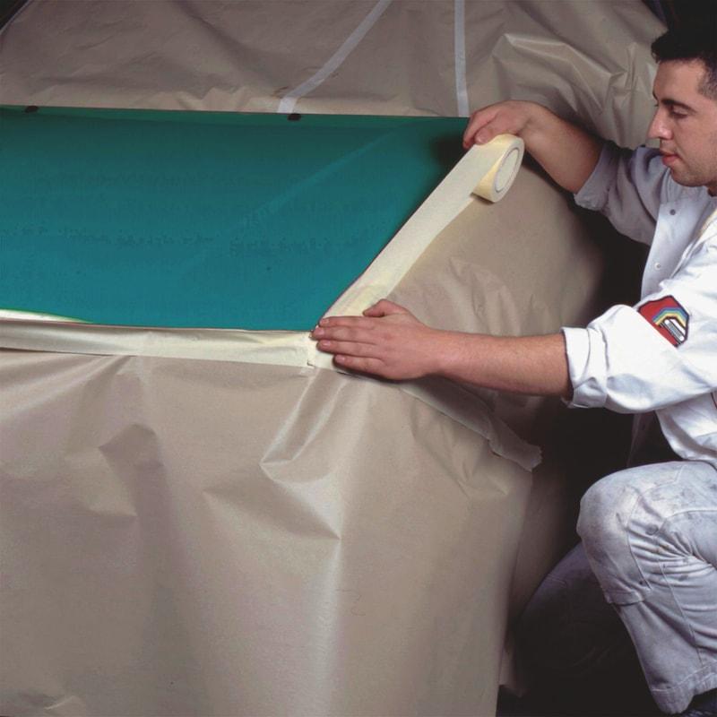 Fita adesiva de cobertura crepe - 2
