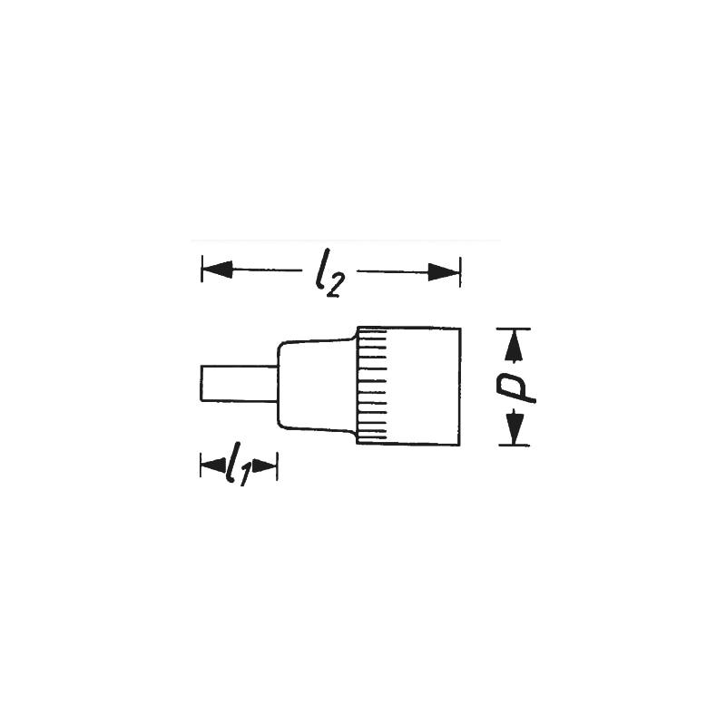 Schraubendreher-Einsatz - SCHRAUBENDREHER-EINSATZ 8806-PH2