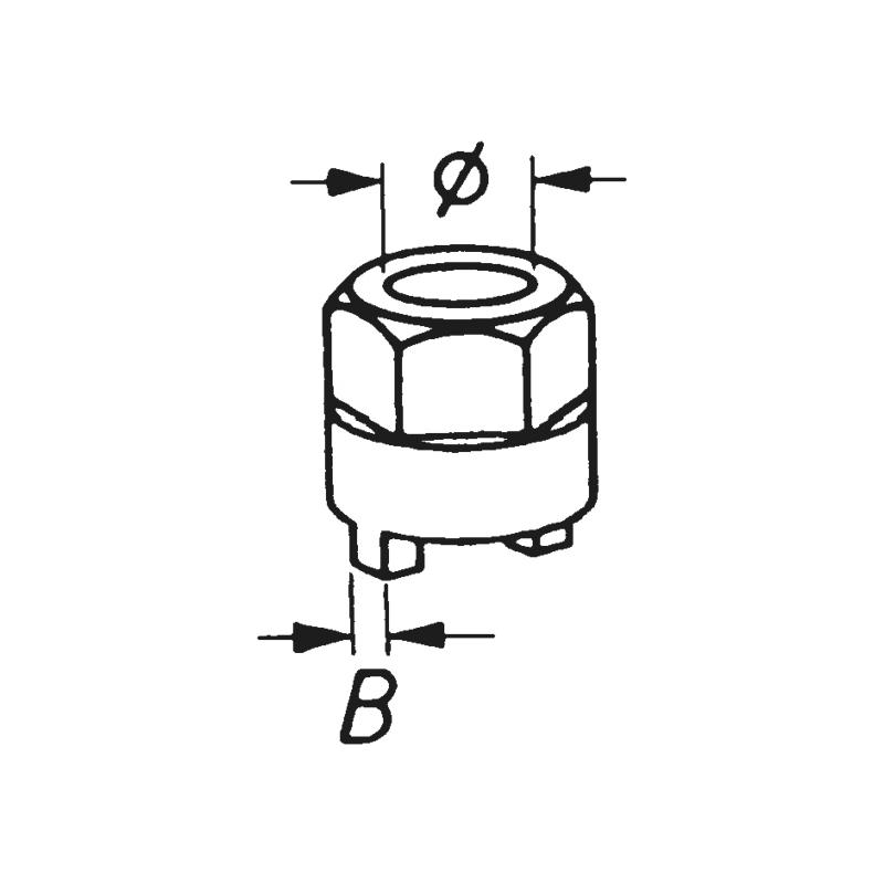 Stoßdämpfer-Zapfenschlüssel - 0