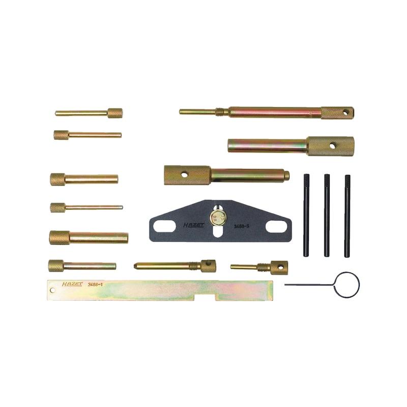Motoreinstell-Werkzeugsortiment - MOTOREINSTELLWERKZEUG-SATZ 3488/17