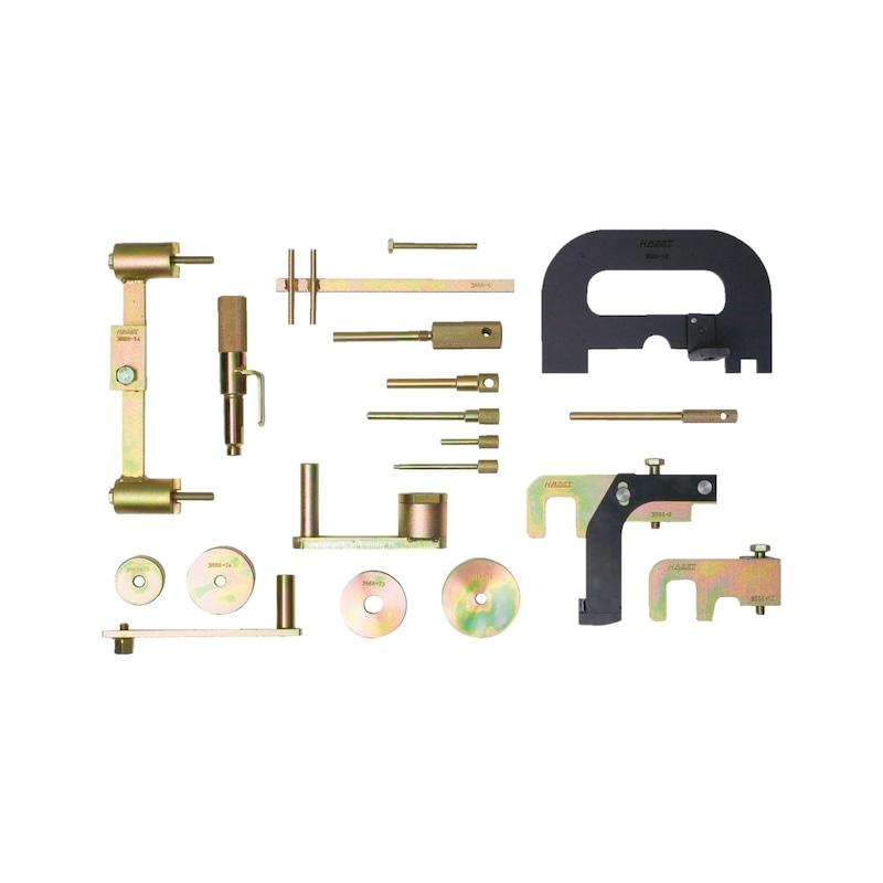 Spannwerkzeug Motoreinstellung - 2