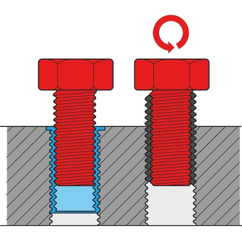 Thread repair set TIME-SERT<SUP>®</SUP> - THRREP-KIT-COMPL-M5/M6/M8/M10/M12