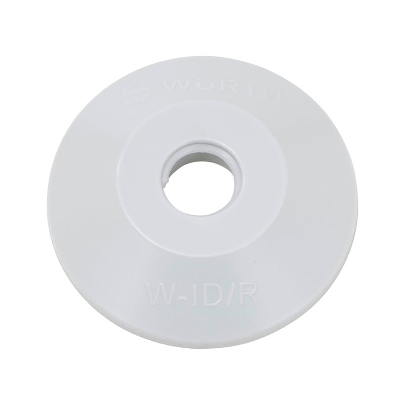 Abdeckrosette für Isolierdübel W-ID