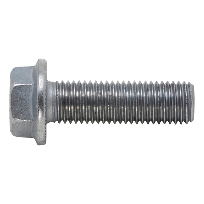 Hexagon head serrated screw with flange - SCR-RIPP-FLG-10.9-WS22-(P3E)-M16X1,5X50