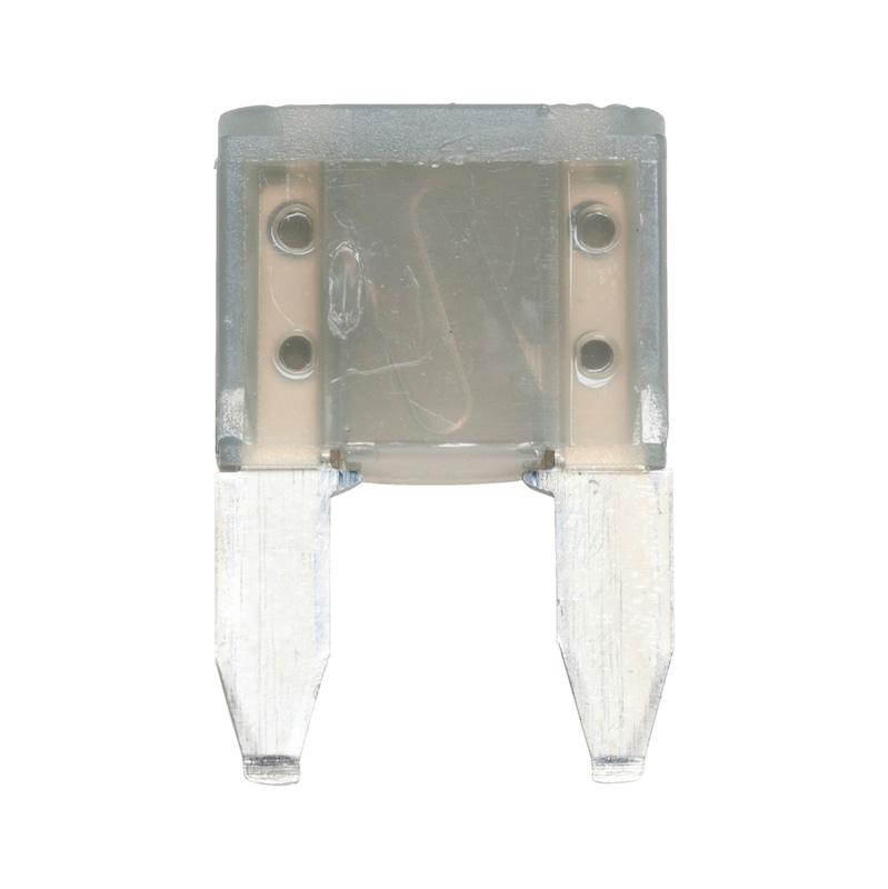 Fusibile a lamelle MINI argento - MINI FUSIBILE A LAMA AMP  2   GRIGIO