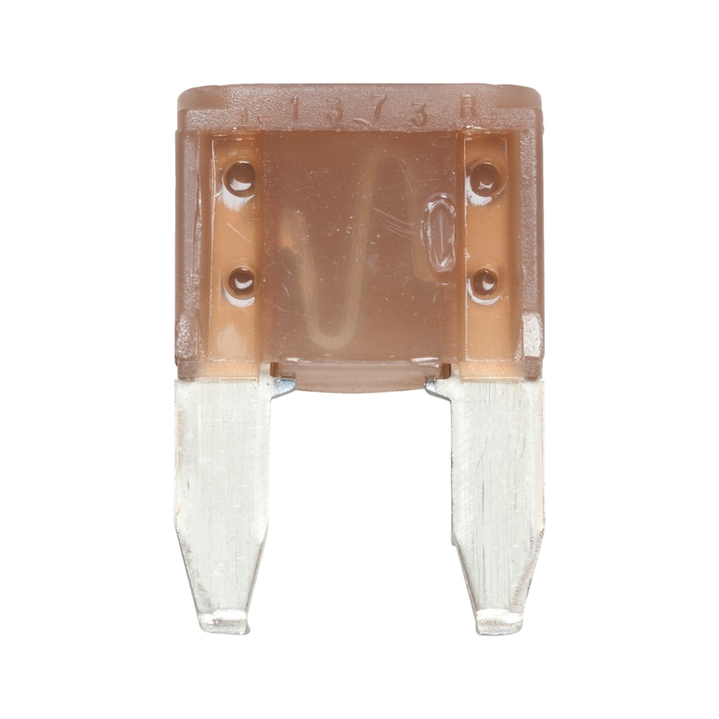Fusibile piatto a lamelle MINI argento - MINI FUSIBILE A LAMA AMP  5    BEIGE