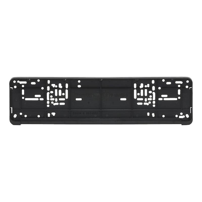 Grundplatte für Kennzeichenbefestigung Classic - KSB-GRUNDPLATTE-CLASSIC-460MM