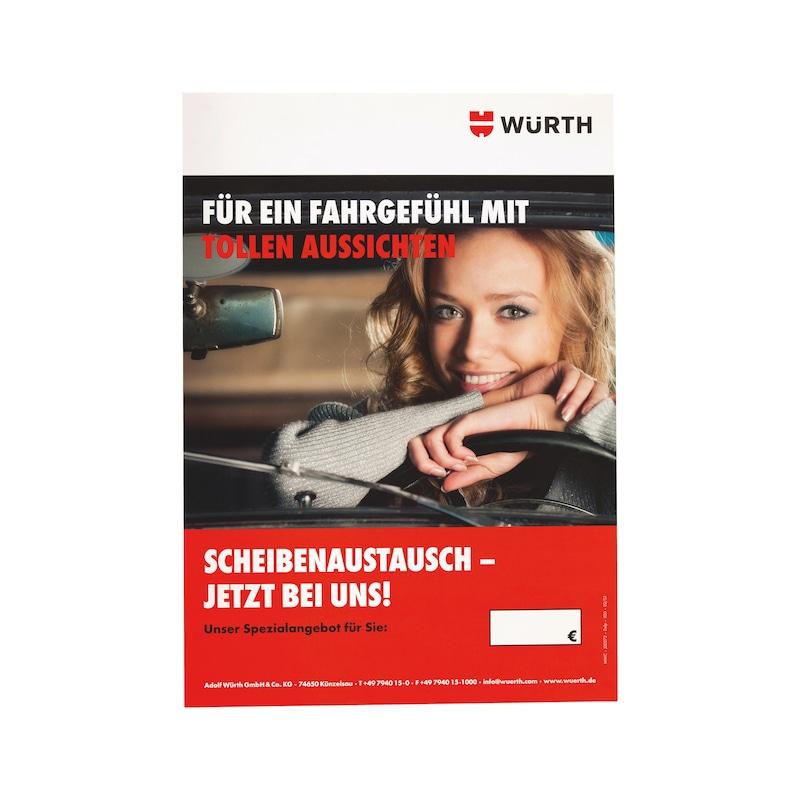 Scheibenaustausch Poster