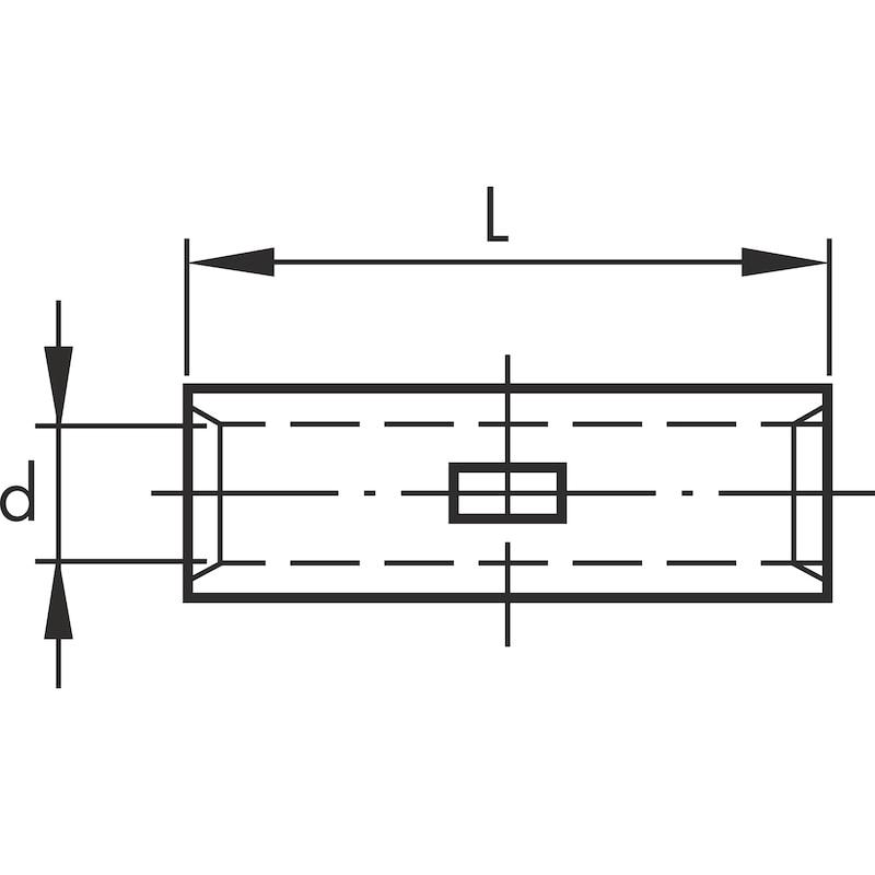Manga de conexão - UNIAO 95MM2