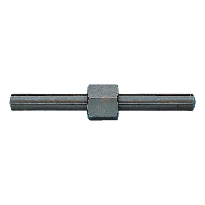 ネジ山付きエキストラクターセット用ナット付きピン - 心棒+アダプターセット 心棒Φ8.7MM