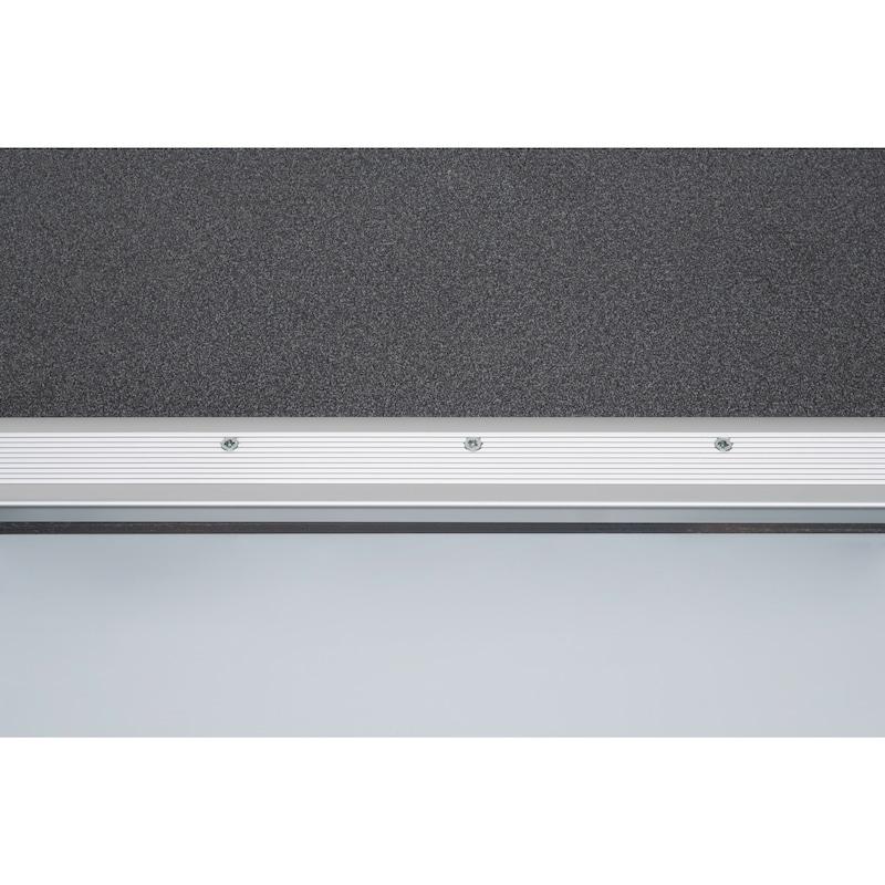 Protezione bordo in alluminio - PROFILO IN ALLUMINIO  1470MM