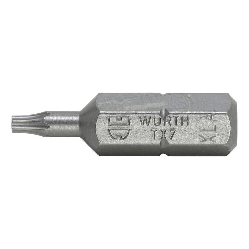 トルクスビット - 1/4ビット TX07X25MM