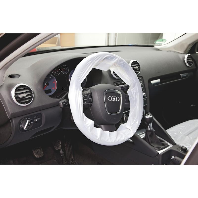 PE steering wheel protector on roll - 2