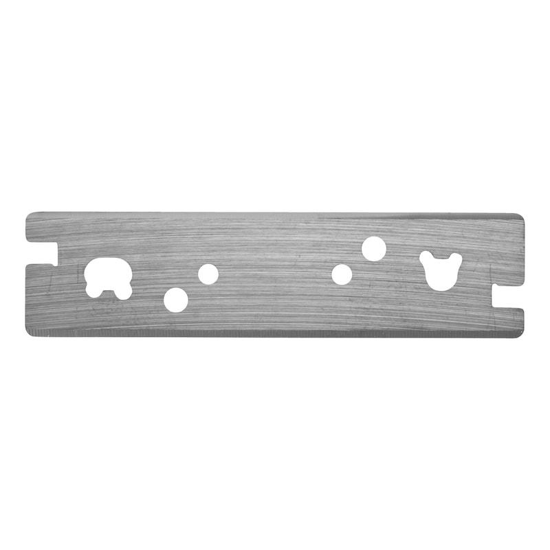Carbide reversible blade