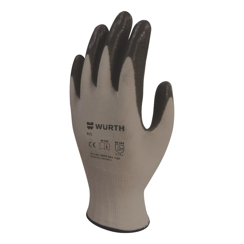 İş güvenlik eldiveni mekanikçi ECO - İŞ GÜVENLİĞİ ELDİVENİ MEKANİKÇİ SİYAH 9