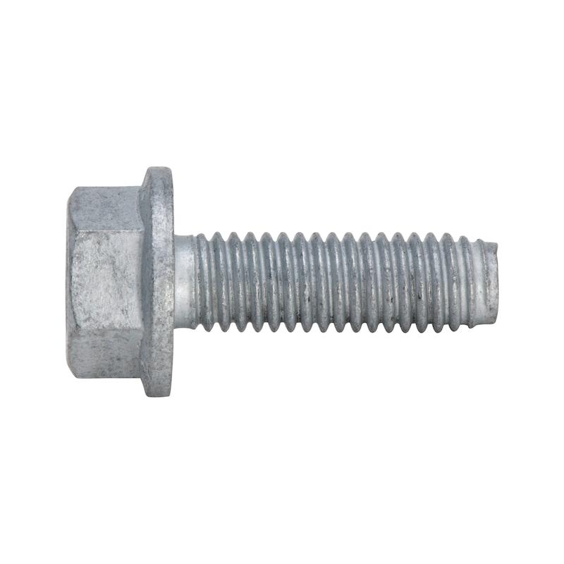 GEFU<SUP>®</SUP> Gewindefurchende Schraube mit Taptite 2000<SUP>®</SUP>-Gewinde, Sechskantkopf mit Bund und Innensechsrund (TXplus) - SHR-6KT-TT2000-10.9-SW13-(ZFSHL)-M8X40