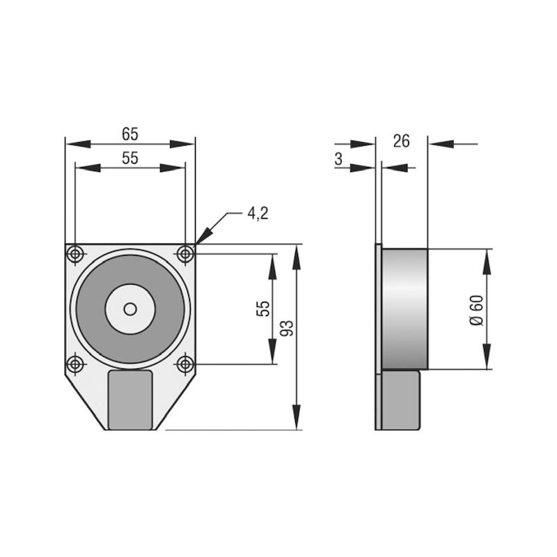 Haftmagnet THM 425 - 2
