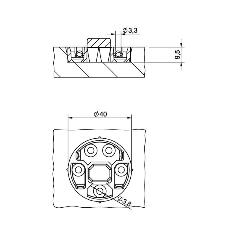 Einhängeverbinder Fixxi - 2