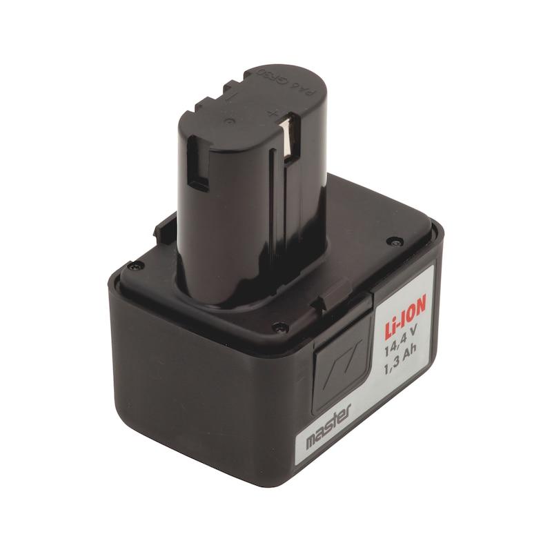 Аккумулятор G14, 14,4 В, 1,3 А·ч - АККУМУЛЯТОР-LIION-G14-14,4V/1,3AАЧ
