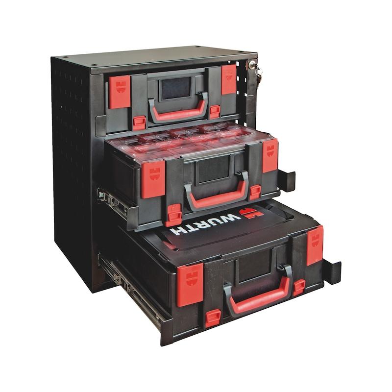 Kit armoire de rangement coffret Orsy 4.4.2 - ARMOIRE RANGEMENT 4.4.2+3 COFFRETS