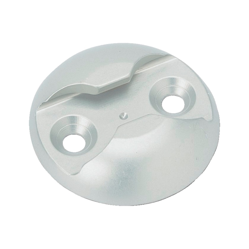 Piastra di ancoraggio in alluminio - PIASTRA FERMACARICO IN ALU     AZPL1