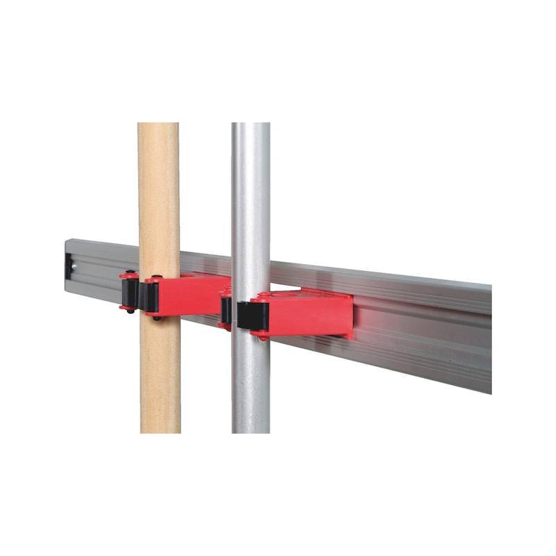 Rail en aluminium pour accroche pour manche - 2