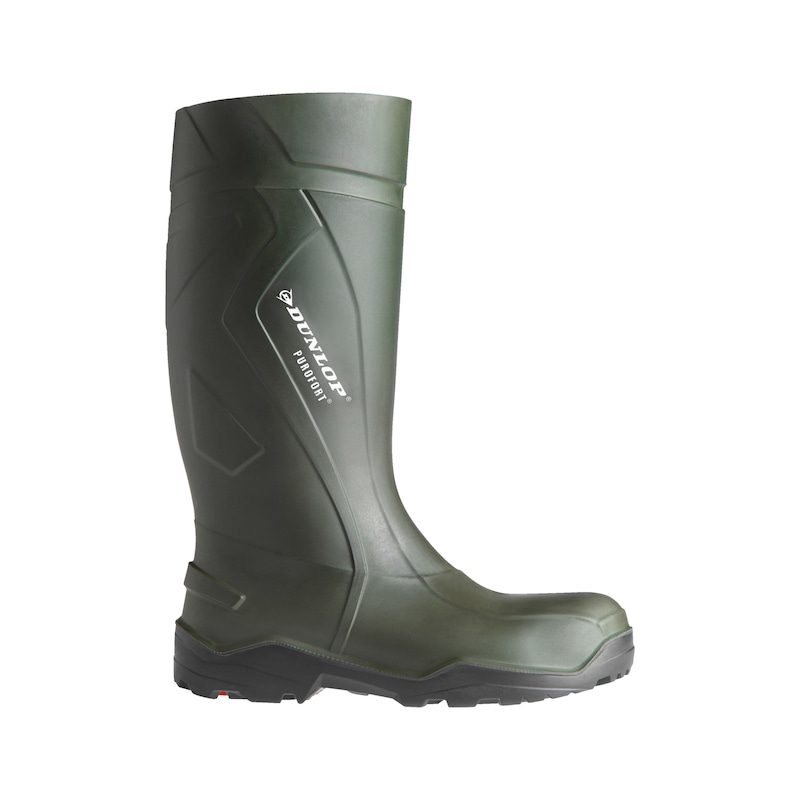Dunlop Purofort Plus Full Safety S5 Sicherheitsgummistiefel - DUN PUROFORT PLUS STIEFEL S5 GRUEN 45