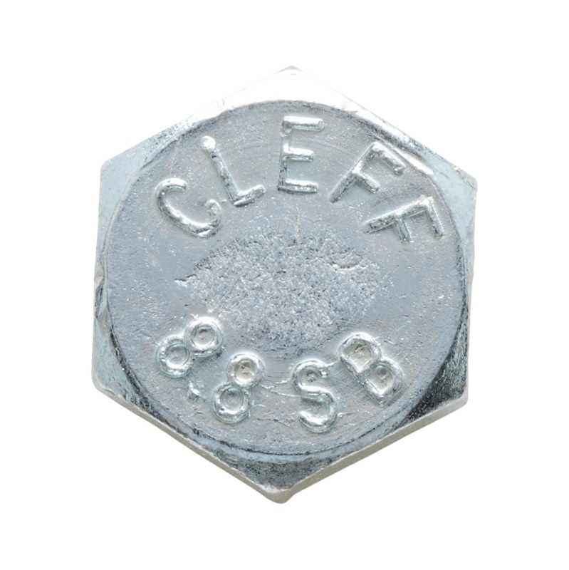 Sechskantschraube mit Schaft Garnitur für den Regalbau - SHR-4014-8.8-MU-7042-8-(A2K)-M16X50/32