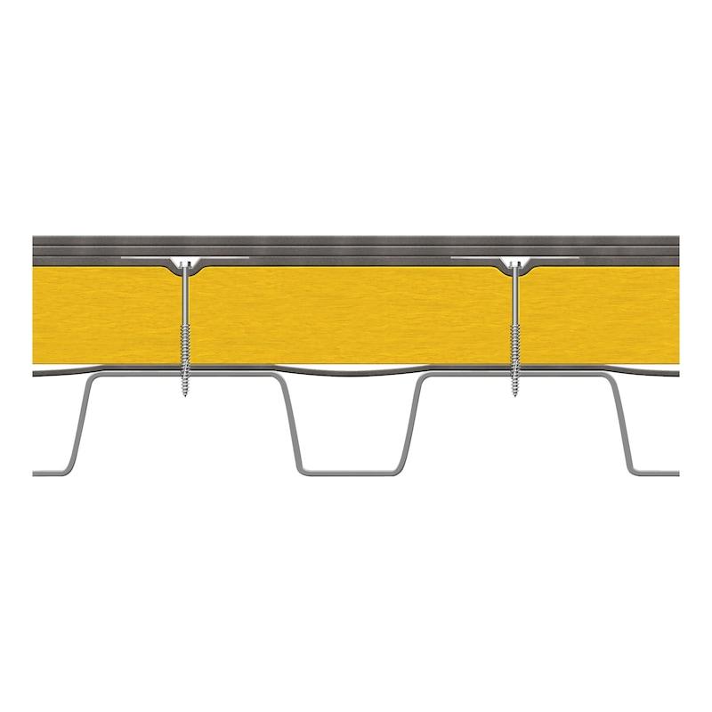 Dachbauschraube mit Sechskantkopf und Bohrspitze - 3